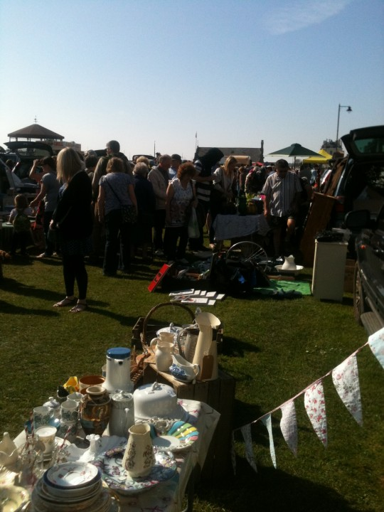 Surely record crowds turn out for a wonderful event in Deal - the whole town must have come out to say hello and buy a cake from Bessie of course