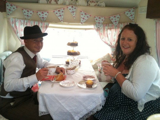 A visit to Kent and a quiet tea in Bessie