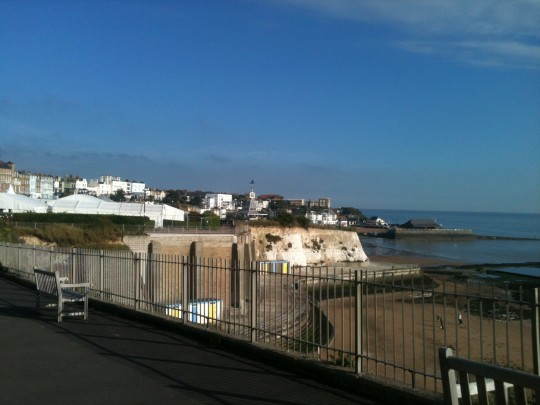 What a view from Broadstairs Food Festival