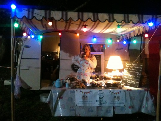 Bessie lights up for a lovely evening of fireworks at Quex Park