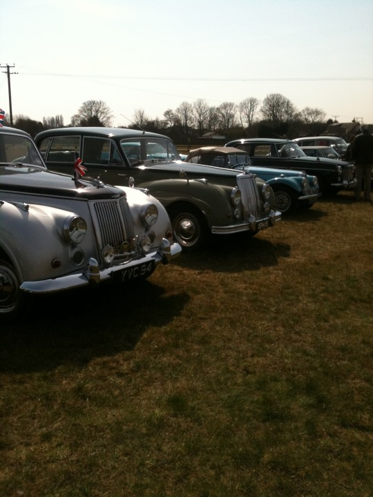 Met some lovely classic car owners at Haguelands Vintage Fair