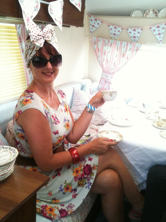 40's and 50's event at Mersham - a little teatime treat