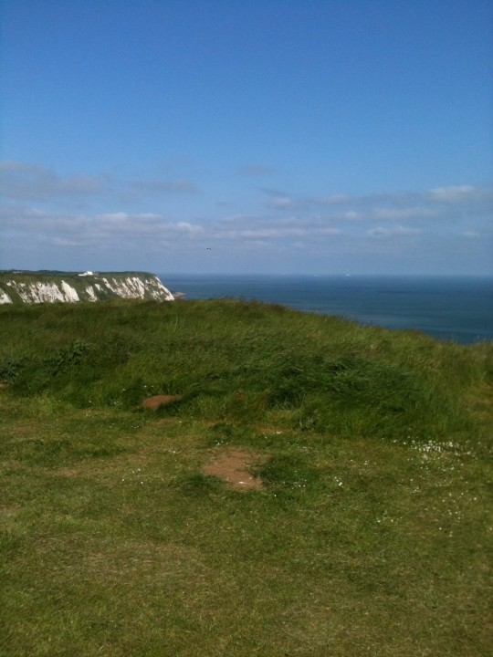 What a lovely view from Bessie's trip to the Capel Le Ferne Battle of Britain Memorial