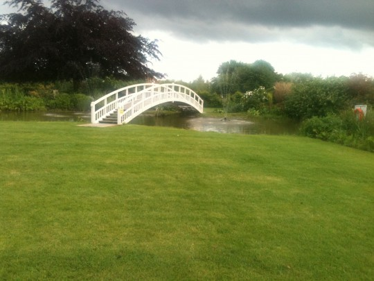 The lovely gardens at The Fennes, Essex