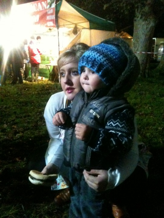 It was so lovely that my eldest daughter and my dear little grandson could join me at Quex Park for the fireworks
